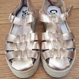 circus by Sam Edelman rose gold sandals Size 7
